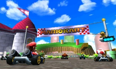 Mario Kart 7 screenshots, Screenshot 7 of 9