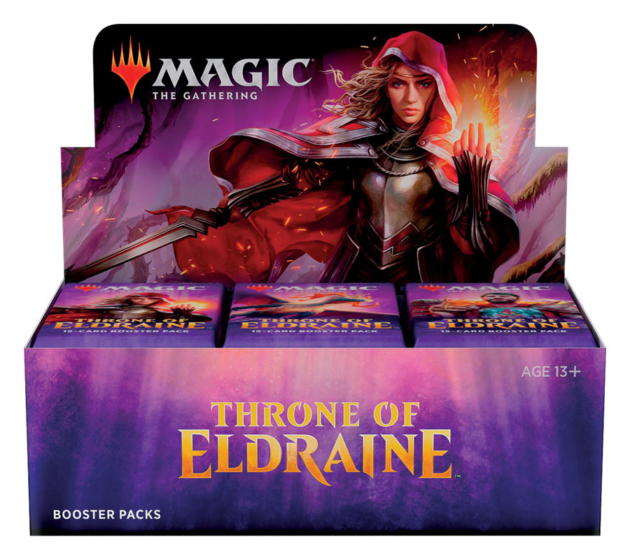 Magic The Gathering: Throne of Eldraine Booster Box image