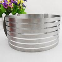 Ape Basics: Stainless Steel Adjustable Layer Cake Slicer image