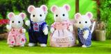 Sylvanian Families: White Mouse Family