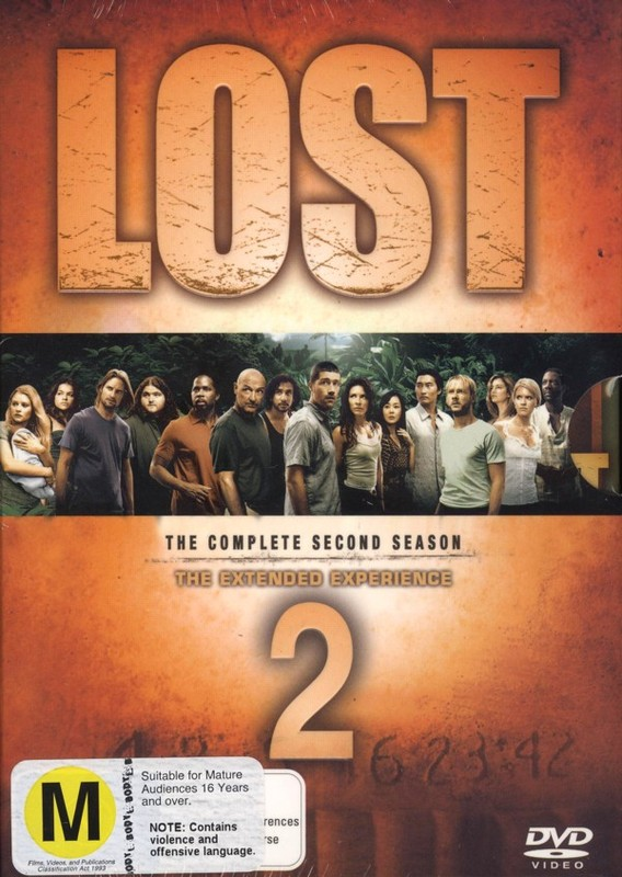 Lost - The Complete 2nd Season: The Extended Experience (7 Disc Set) on DVD