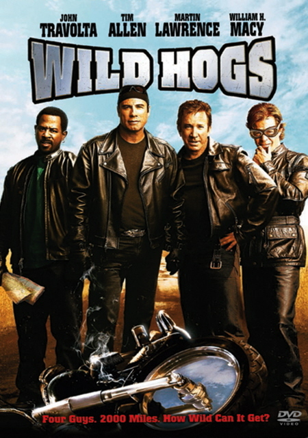 Wild Hogs on DVD