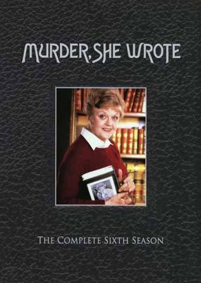 Murder, She Wrote - Complete Season 6 (6 Disc Set) on DVD