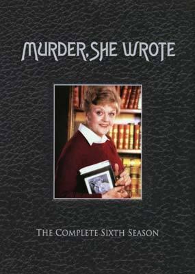 Murder, She Wrote - Complete Season 6 (6 Disc Set) on DVD