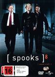 Spooks - Season 8 (3 Disc Set) DVD