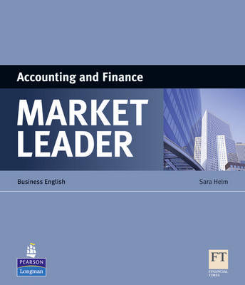 Market Leader ESP Book - Accounting and Finance by Sara Helm image