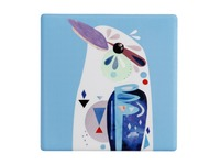 Maxwell & Williams: Pete Cromer Ceramic Square Tile Coaster - Kookaburra (9.5cm)