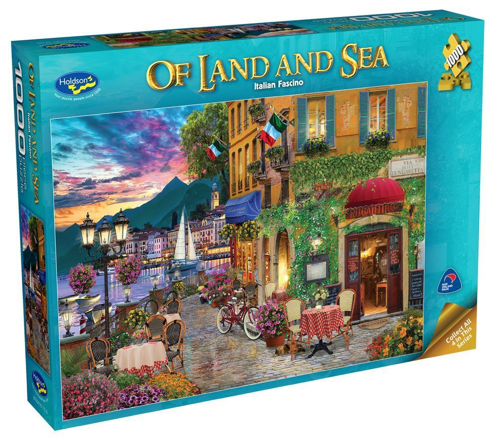 Holdson: 1000 Piece Puzzle - Of Land & Sea S2 (Italian Fascino) image