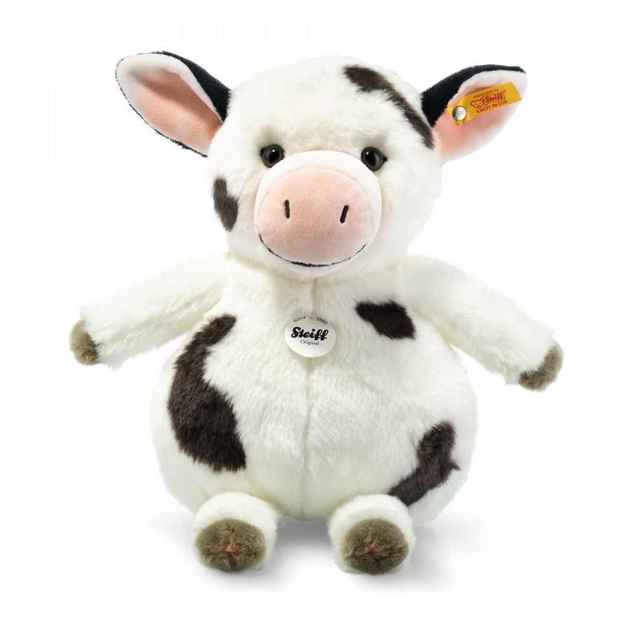 Steiff: Happy Farm Cowaloo Cow - Spotted White/Black