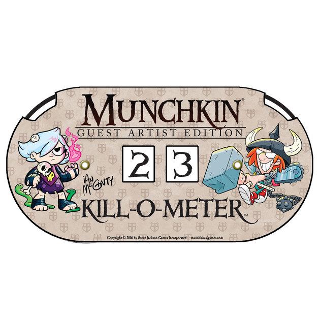 Munchkin: Guest Artist Edition - Kill-O-Meter