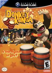 Donkey Konga + Bongo for GameCube