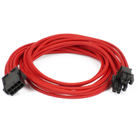 Phanteks 8-Pin Motherboard Extension Cable (Red)