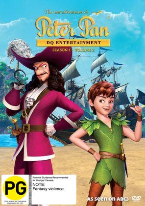 The New Adventures Of Peter Pan: Season 1 - Volume 2 on DVD
