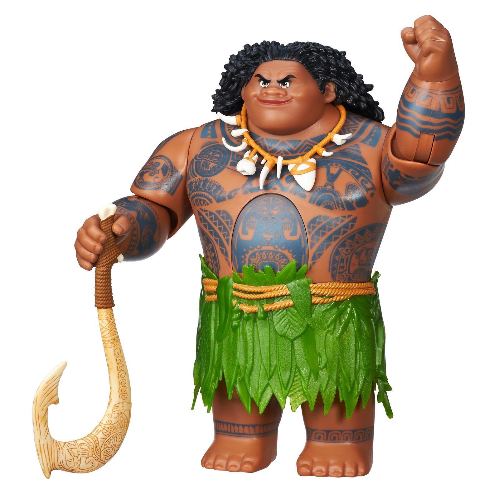 Disney's Moana: Swing 'n Sounds Maui - Action Figure image