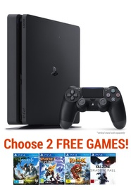 PS4 Slim 1TB Value bundle for PS4 image