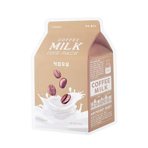 A'PIEU Milk One Pack Sheet Mask - Firming Coffee image