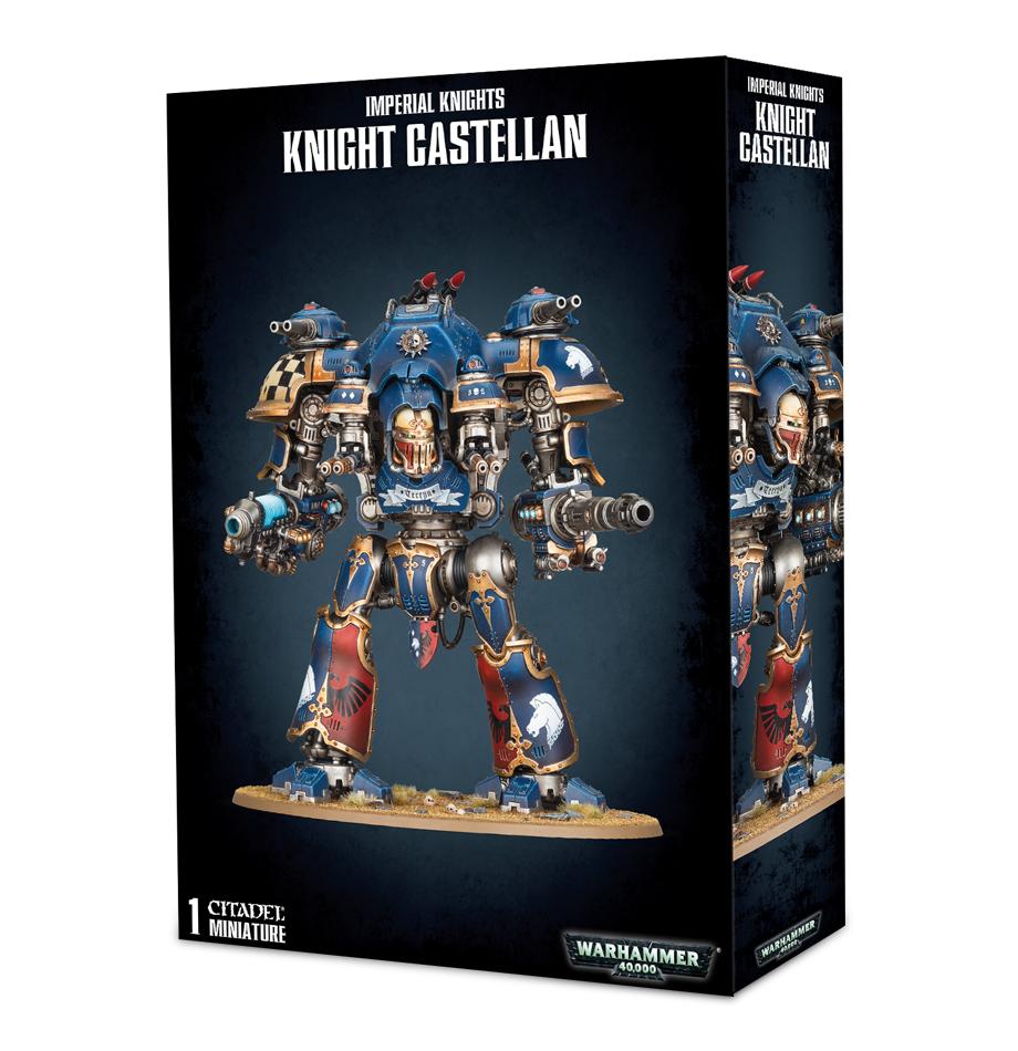Warhammer 40,000 Imperial Knights - Knight Castellan image