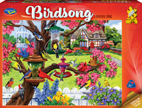 Holdson: 1000 Piece Puzzle - Birdsong (A Bountiful Spring)