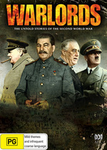 Warlords - The Untold Stories Of The Second World War on DVD