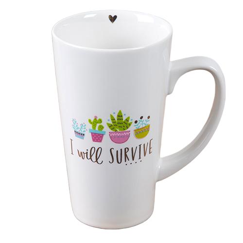Natural Life: Latte Mug - Survive