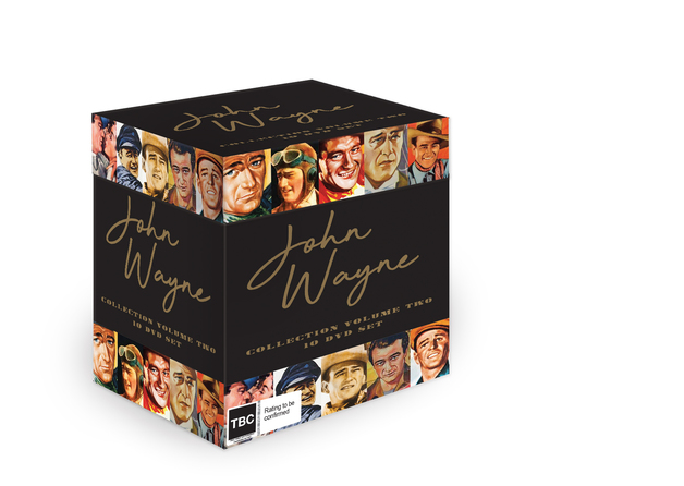 John Wayne Collection - Volume Two on DVD
