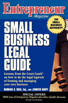 Small Business Legal Guide by Barbara C. S. Shea image