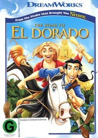 Road To El Dorado on DVD image