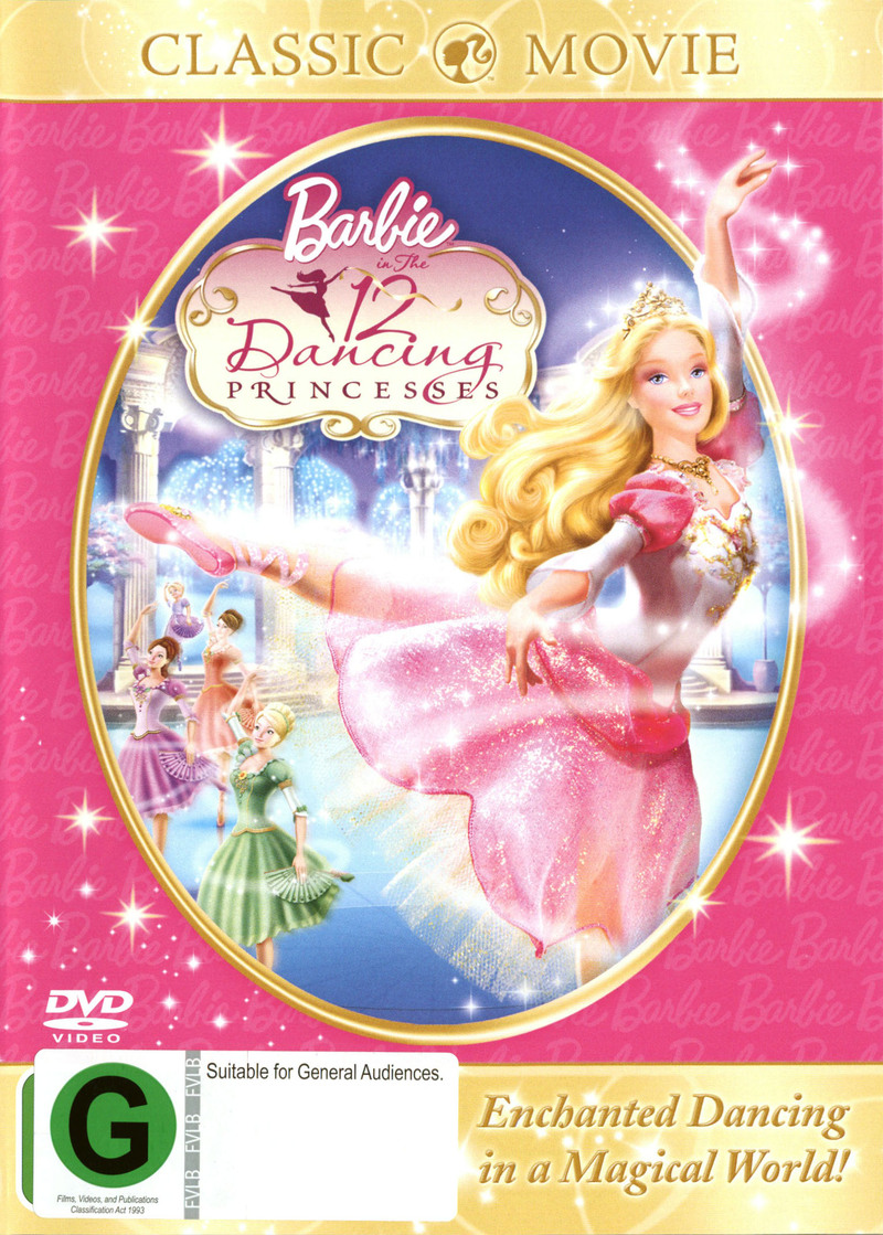 Barbie In The 12 Dancing Princesses on DVD image