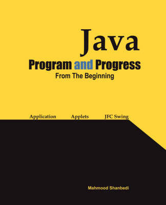 Java Program and Progress