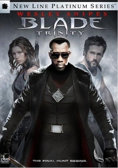 Blade Trinity on DVD