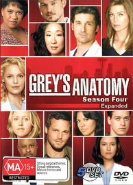 Grey's Anatomy - Season 4 on DVD