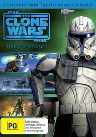 Star Wars The Clone Wars - Season 4 Volume 2 on DVD