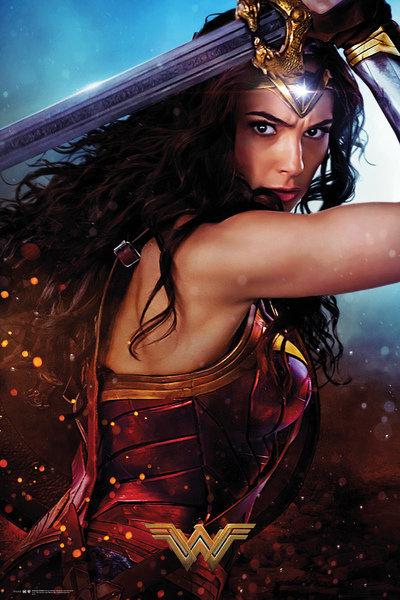 Wonder Woman Maxi Poster - Defend (643)