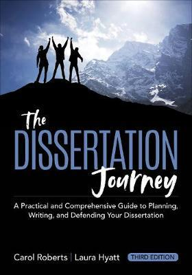 The Dissertation Journey by Carol M. Roberts image