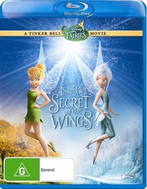 Tinker Bell and the Secret of the Wings on Blu-ray
