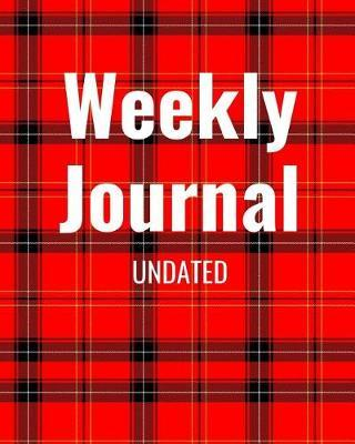 Weekly Journal Undated by Mister Planner