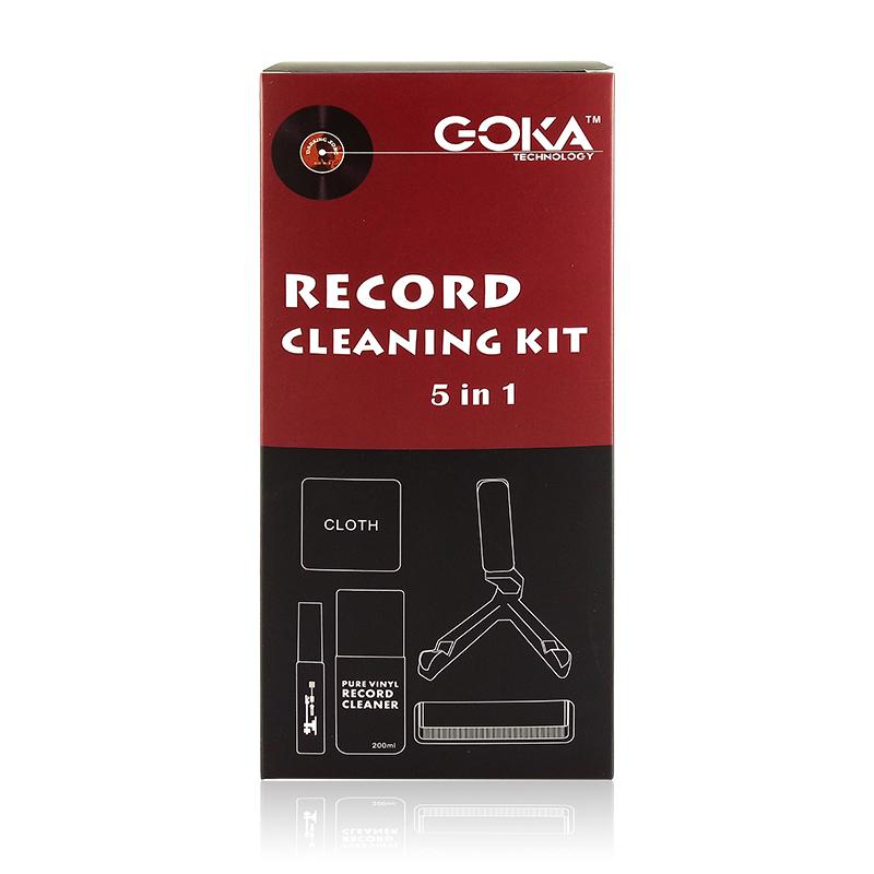 Goka: Vinyl Record Care Set (5 in 1) image
