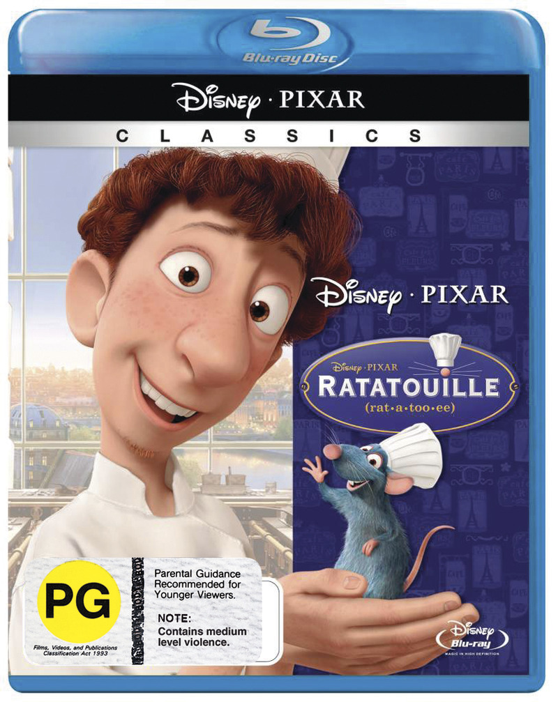 Ratatouille on Blu-ray image