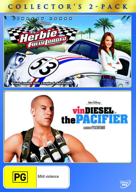 Herbie - Fully Loaded / The Pacifier - Collector's 2-Pack (2 Disc Set) on DVD