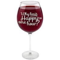 BigMouth Gigantic Wine Glass (The Happy Hour)