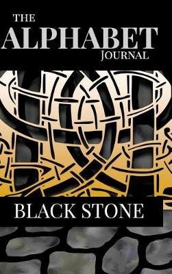 The Alphabet Journal - Black Stone by Judy a Powell