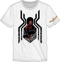 Marvel: Spiderman Homecoming - White T-Shirt (Large)