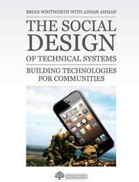 The Social Design of Technical Systems by Brian Whitworth image