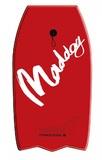 """Maddog: MSP637 Missile - 41"""" Bodyboard (Red)"""