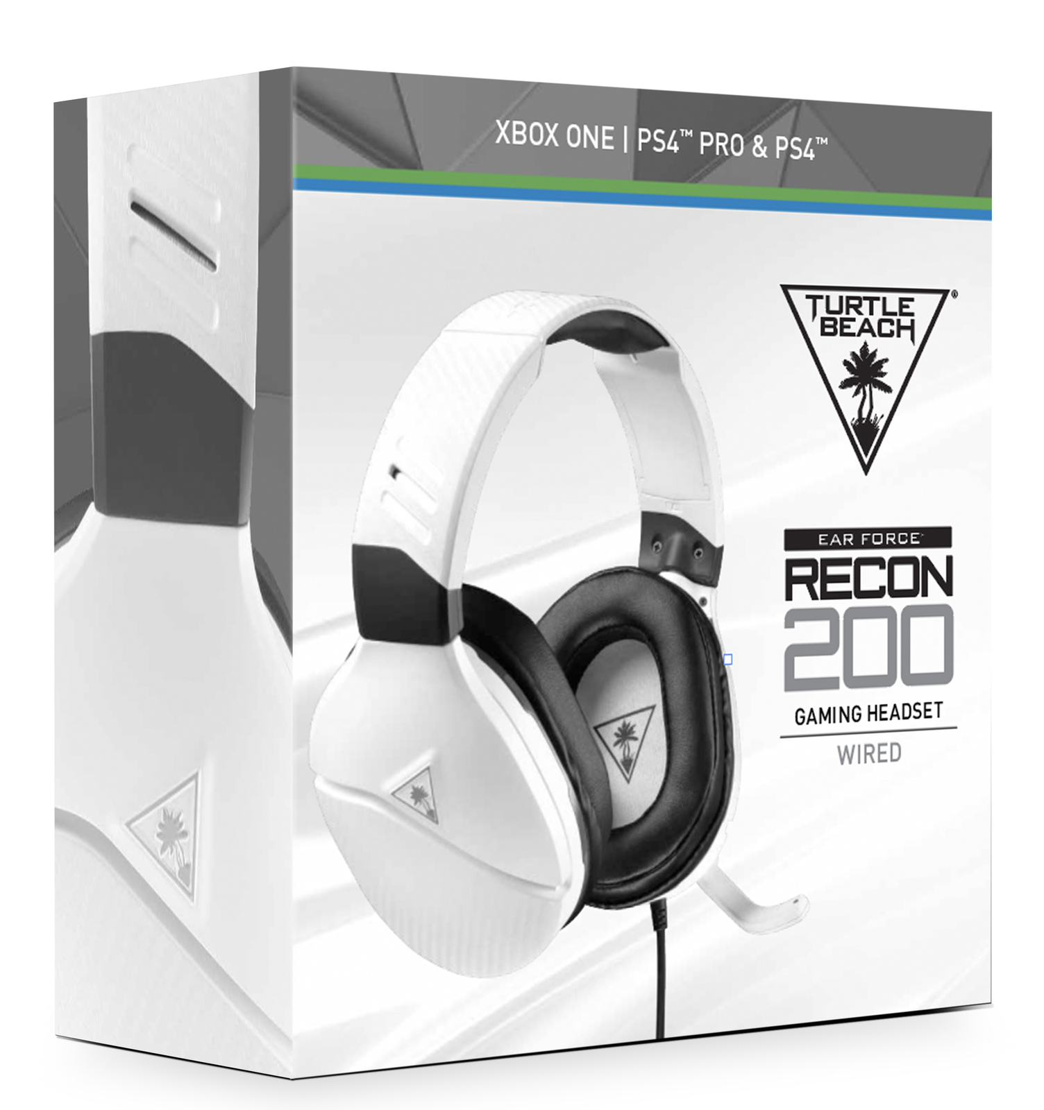 06b21d2bf05 Turtle Beach Recon 200 White Amplified Gaming Headset (PS4 & Xbox One) for  ...