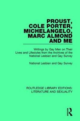 Proust, Cole Porter, Michelangelo, Marc Almond and Me by National Lesbian & Gay Survey image