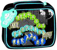 Spencil: Skate Paint Lunch Box
