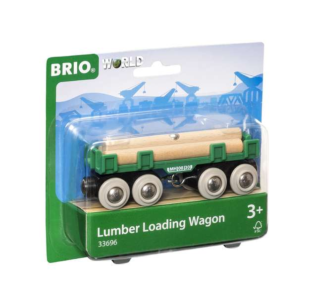 Brio Railway - Lumber Loading Wagon
