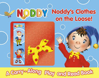 Noddy's Clothes on the Loose!: A Read and Play Book by Enid Blyton image