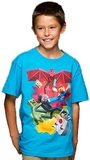 Minecraft SamCube Battle Youth T-Shirt (Large)